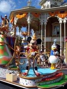 Mickey in the Magic Kingdom!