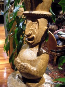 One of the Many 'Tiki Gods You'll See at 'Ohana