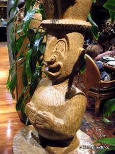 One of the Many 'Tiki Gods You'll See at 'Ohana