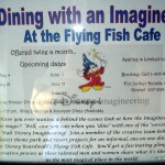 Dine With an Imagineer Now Offered at Flying Fish Cafe
