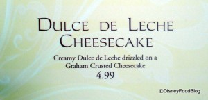 Dulce de Leche Cheesecake Info
