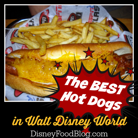 Best Hot Dogs in Walt Disney World