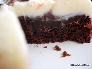 Brownie Cross Section