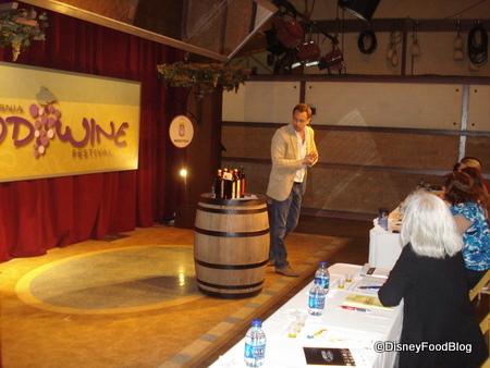 Disneyland Food and Wine Festival Beverage Seminar