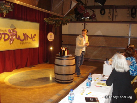 Disneyland Food and Wine Festival Beverage Seminar