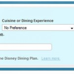 Changes to Disney World's Online Dining Reservation System
