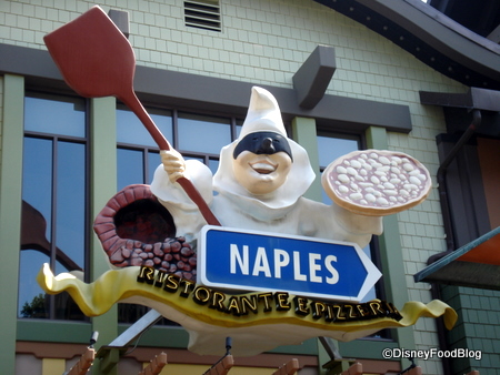 Naples in Disneyland's Downtown Disney