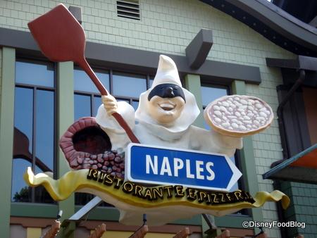 Naples in Disneyland's Downtown Disney