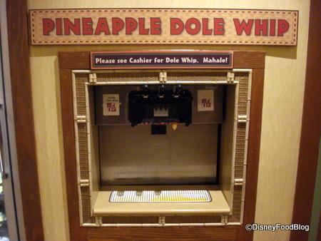 dole whip machine