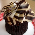 """You Won't Believe This!"" Snack: Zebra Cupcake"