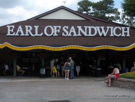 Earl of Sandwich at Downtown Disney Orlando