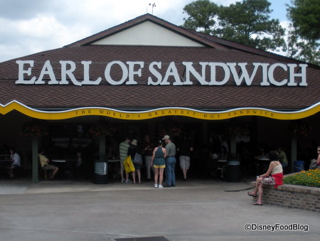 Earl of Sandwich in Disney Springs