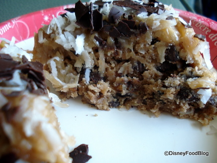 Snack Attack German Chocolate Cookie in Disney World the disney