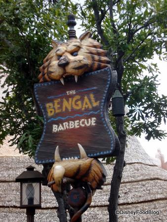 Bengal BBQ Sign
