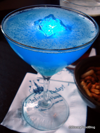 Disney's Blue Glow-Tini