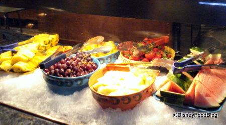 Fruit at Boma in Disney's Animal Kingdom Lodge