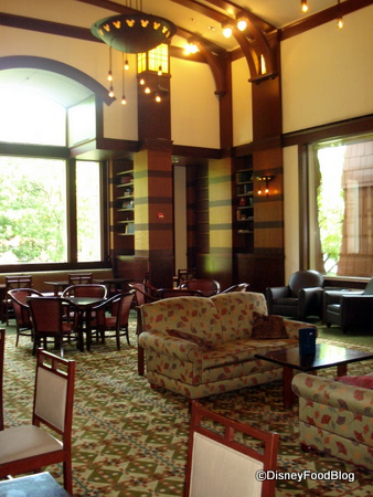 Hearthstone Lounge at Disney's Grand Californian Resort
