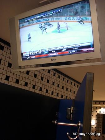 Restroom Stall TV