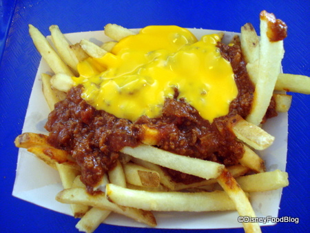 Chili Cheese Fries at Cosmic Ray's