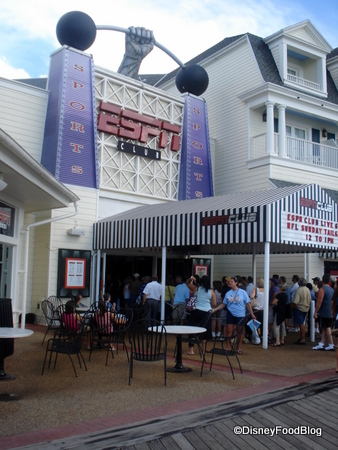 ESPN Club (with a line to get in on Game Day!)