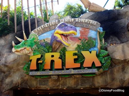 T rex coupons disney world