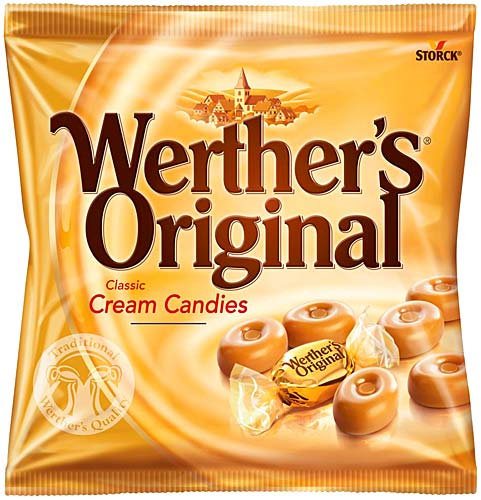 New info has surfaced about the werther's candy shop in germany set