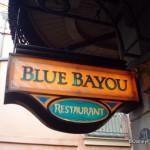 Disneyland's Blue Bayou
