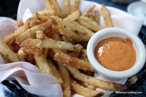 Cafe Orleans Pommes Frites