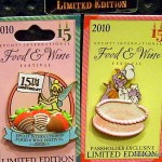 2010 Epcot Food and Wine Festival Pins Sneak Peek