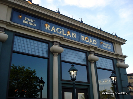 Raglan Road -- Outside