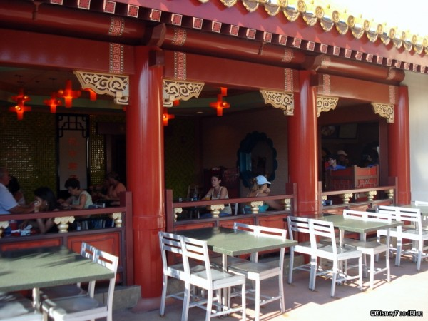 Review Lotus Blossom Cafe In Epcot S China Pavilion