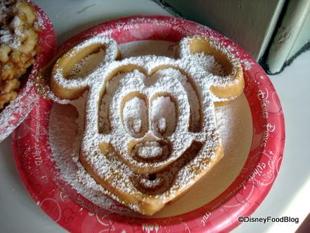 Mickey Waffle!