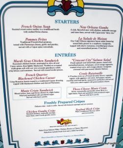 Cafe Orleans Menu -- Click for Larger Size