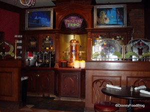 Princess and the Frog Overlay with Walt's Espresso Machine