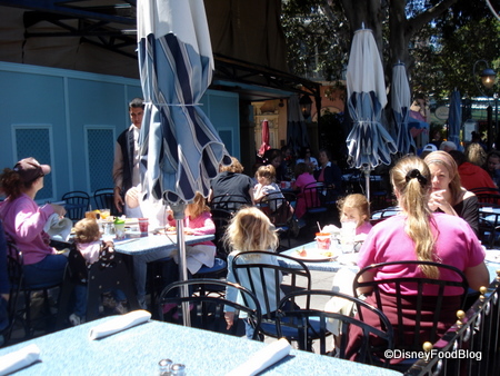 Outdoor Patio at Cafe Orleans