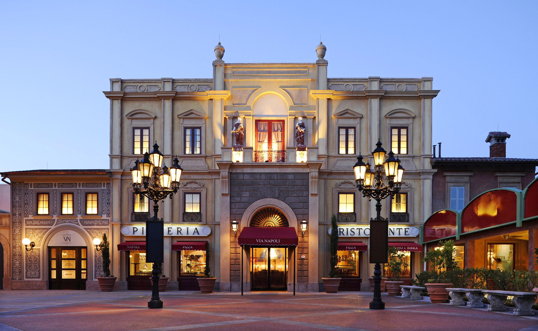 Italian Restaurant Downtown Disney