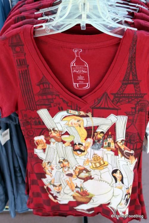 Disney Shop Food Wine Festival Tshirt