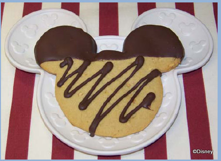 Disneyland S Treat Of The Month Chocolate Dipped Peanut Butter