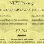 Epcot Food and Wine Festival Grape Getaway Prices Drop by $300