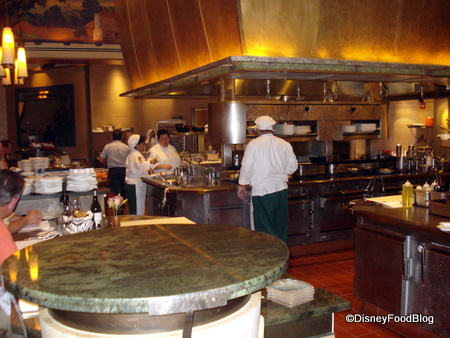 Review disneyland s napa rose the disney food blog for A new napa cuisine