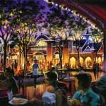 New Disney California Adventure Paradise Pier Dining Concept Art