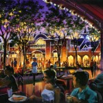 New Disney California Adventure Paradise Pier Dining Concept Art