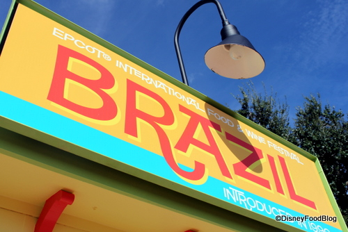 The Brazil Booth Returns to the 2014 Epcot Food and Wine Festival!