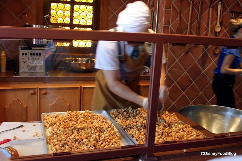 First Look Epcot S New Karamell Kuche The Disney Food Blog