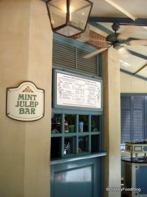 Mint Julep Bar