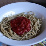 Kids' Spaghetti with Marinara