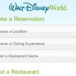 Disney Dining Reservations Go Mobile