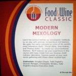 Guest Review: Swan and Dolphin Food & Wine Classic, Modern Mixology Seminar