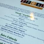 Fresh Introduces New Signature Cocktail Menu