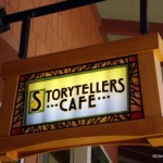 Disneyland's Storytellers Cafe Ending A La Carte Options at Lunch and Dinner